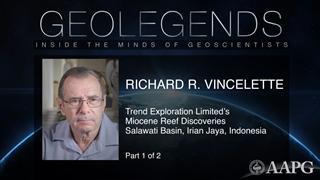 GeoLegends: Richard R. Vincelette (Part1)