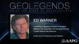 GeoLegends: Ed Warner