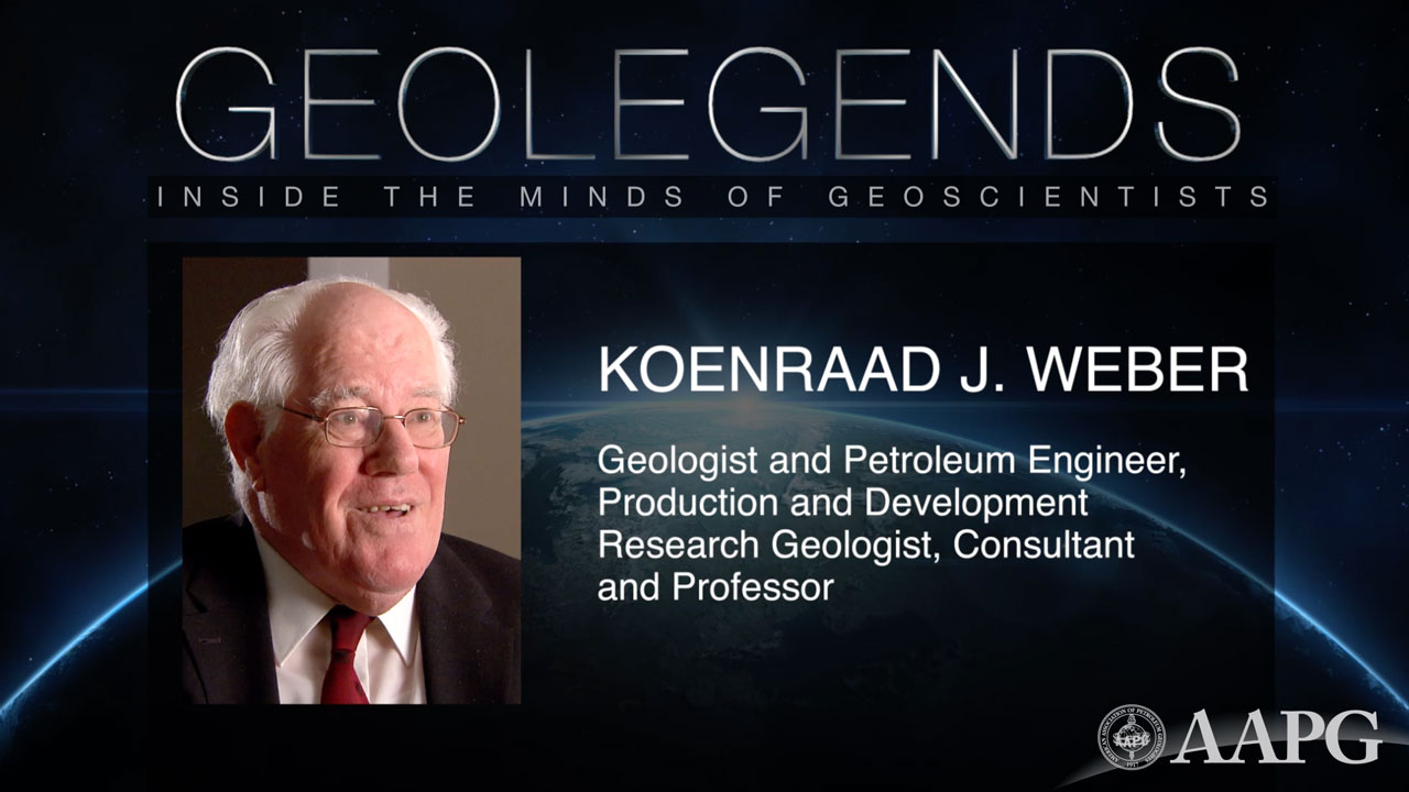 GeoLegends: Koenraad J. Weber