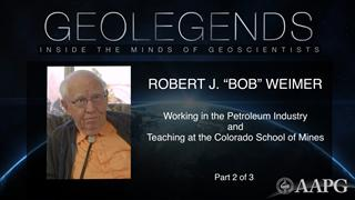 GeoLegends: Robert J. 'Bob' Weimer (Part 2)
