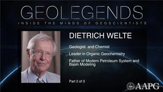 GeoLegends: Dietrich Welte (Part 2)