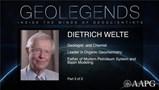GeoLegends: Dietrich Welte (Part3)