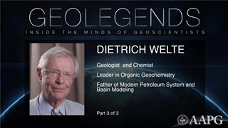 GeoLegends: Dietrich Welte (Part 3)