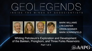 GeoLegends: Mark Williams, Lyn Canter, Orion Skinner, and Mark Sonnenfeld (Part 1)