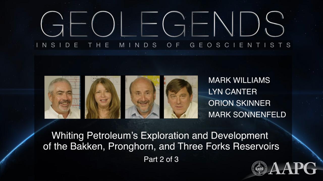 GeoLegends: Mark Williams, Lyn Canter, Orion Skinner, and Mark Sonnenfeld (Part2)