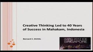 Bernard Duval - Creative Thinking Led to 40 Years of Success in Mahakam, Indonesia