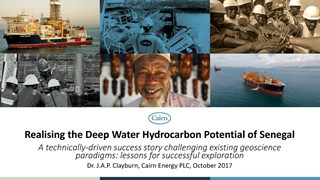 John Clayburn - Realising the Deep Water Hydrocarbon Potential of Senegal