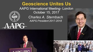 Charles Sternbach, AAPG ICE2017 Presidential Address