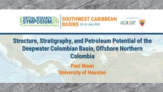 Structure, Stratigraphy, and Petroleum Potential of the Deepwater Colombian Basin, Offshore Northern Colombia