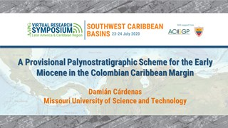 A Provisional Palynostratigraphic Scheme for the Early Miocene in the Colombian Caribbean Margin