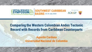 Comparing the Western Colombian Andes Tectonic Record with Records from Caribbean Counterparts