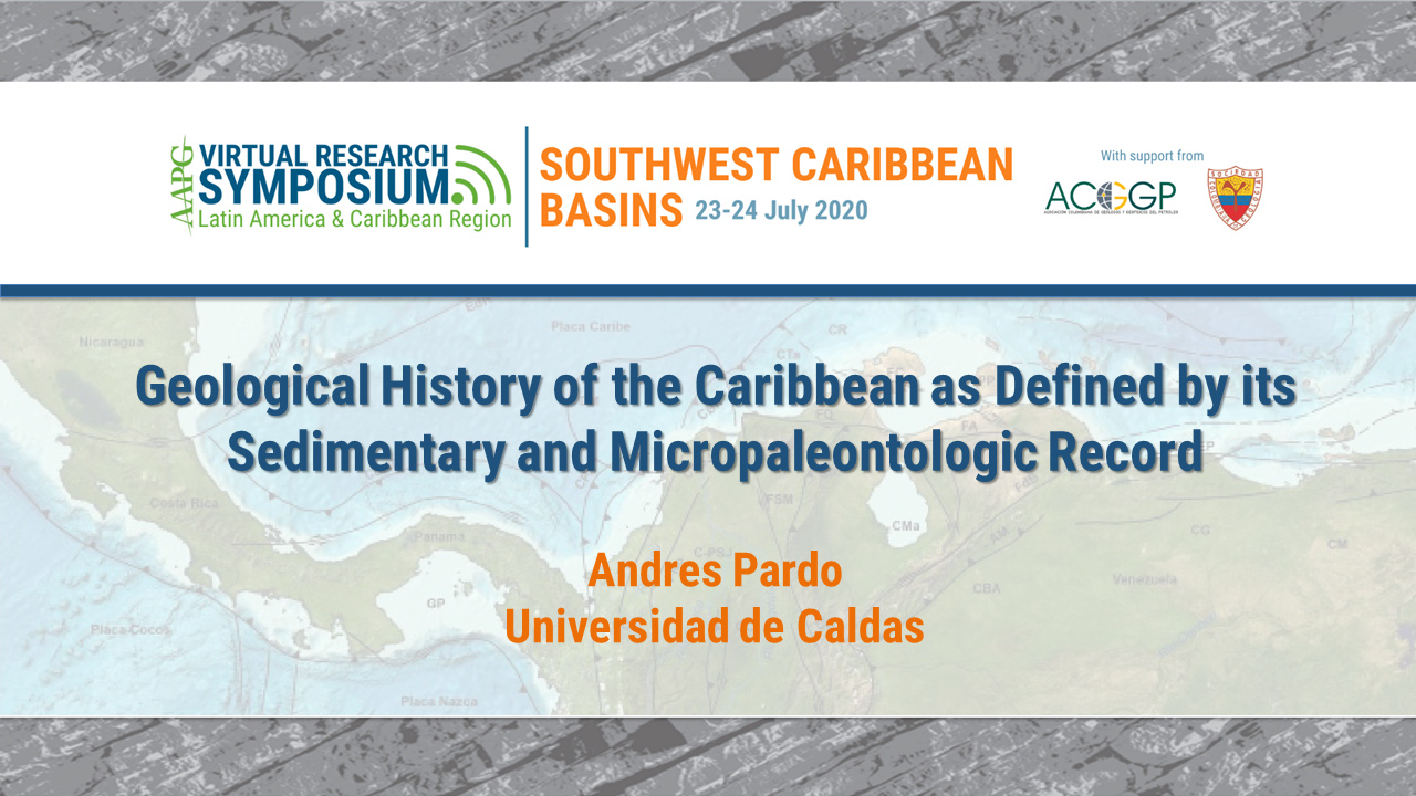Geological History of the Caribbean as Defined by its Sedimentary and Micropaleontologic Record