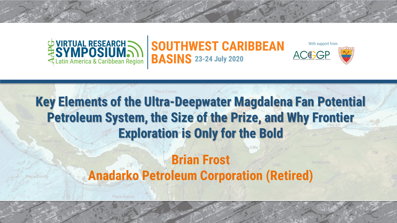 Key Elements of the Ultra-Deepwater Magdalena Fan Potential Petroleum System, the Size of the Prize, and Why Frontier Exploration is Only for the Bold