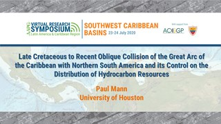 Late Cretaceous to Recent Oblique Collision of the Great Arc of the Caribbean with Northern South America and its Control on the Distribution of Hydrocarbon Resources