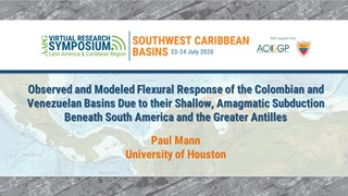 Observed and Modeled Flexural Response of the Colombian and Venezuelan Basins Due to their Shallow, Amagmatic Subduction Beneath South America and the Greater Antilles