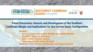 Panel Discussion 1: Genesis and Development of the Southern Caribbean Margin and Implications for the Current Basin Configuration