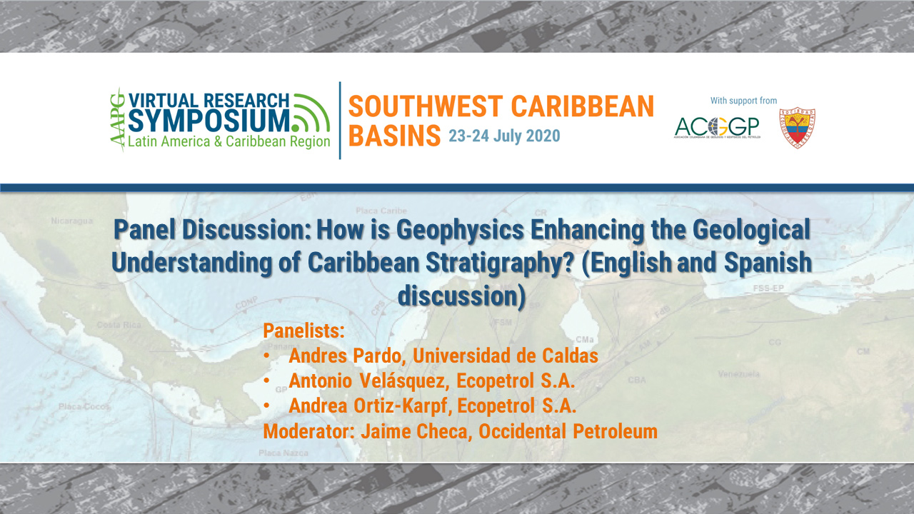 Panel Discussion II: How is Geophysics Enhancing the Geological Understanding of Caribbean Stratigraphy? (English and Spanish Discussion)