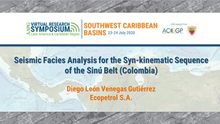 Seismic Facies Analysis for the Syn-kinematic Sequence of the Sinú Belt (Colombia)