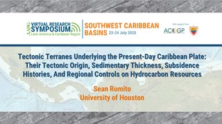 Tectonic Terranes Underlying the Present-Day Caribbean Plate: Their Tectonic Origin, Sedimentary Thickness, Subsidence Histories, And Regional Controls on Hydrocarbon Resources