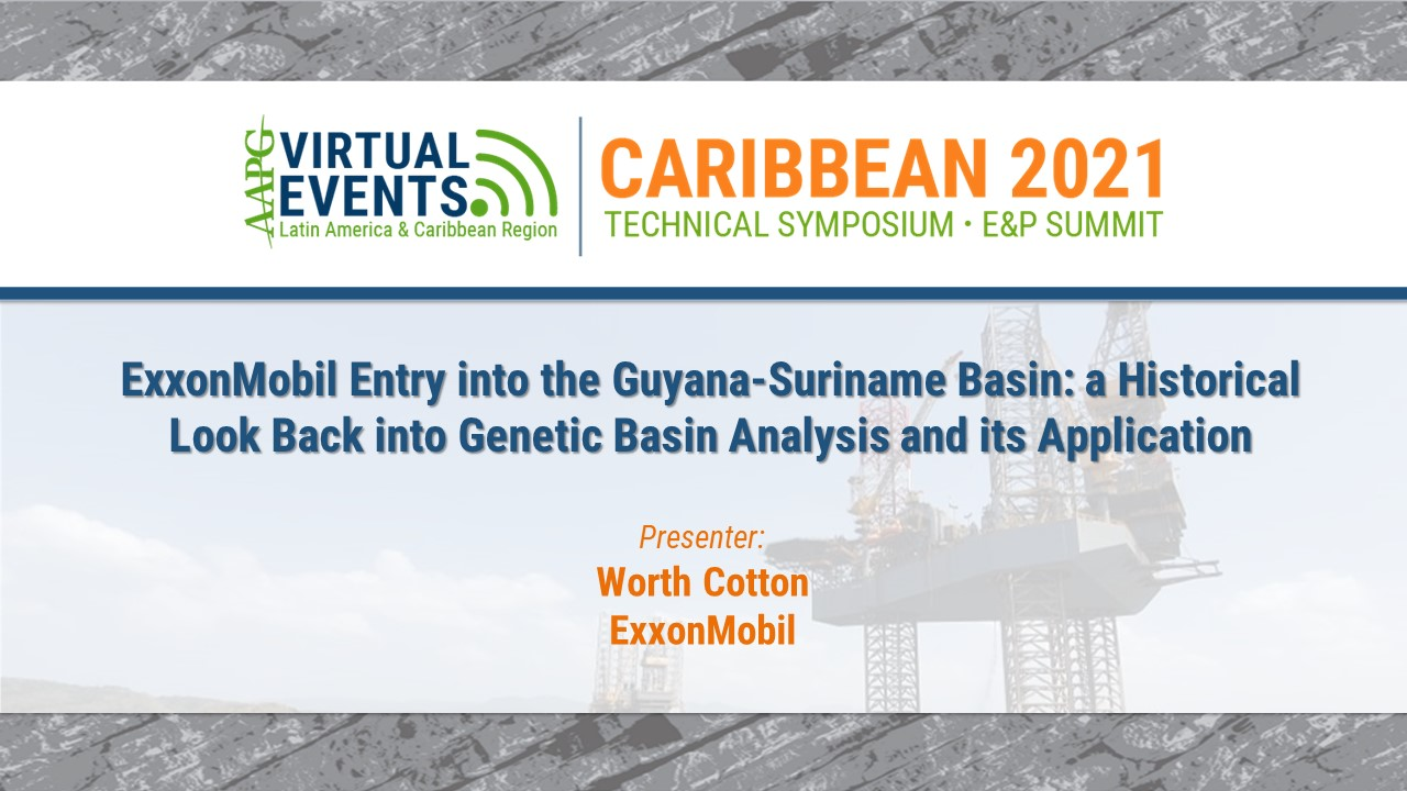 ExxonMobil Entry into the Guyana-Suriname Basin: A Historical Look Back into Genetic Basin Analysis and its Application