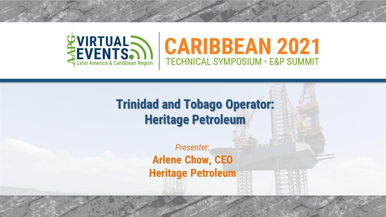 Trinidad and Tobago Operator: Heritage Petroleum