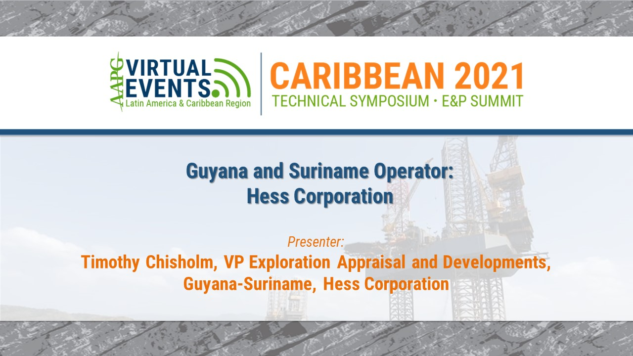 Guyana and Suriname Operator: Hess Corporation