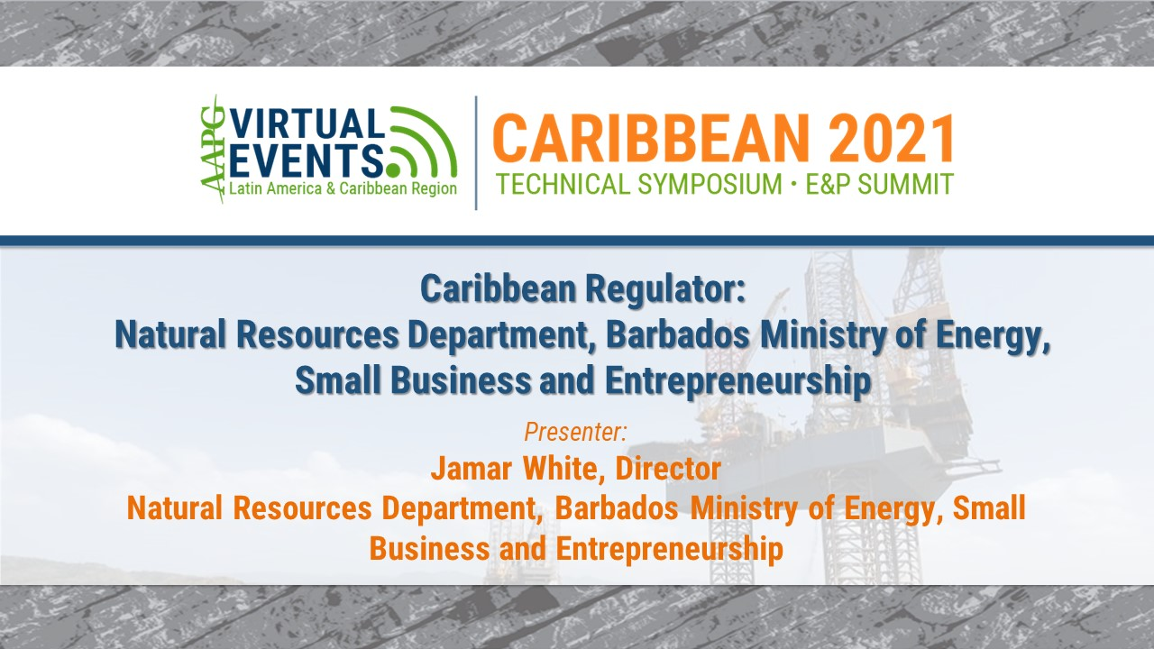 Caribbean Regulator: Natural Resources Department, Barbados Ministry of Energy, Small Business and Entrepreneurship