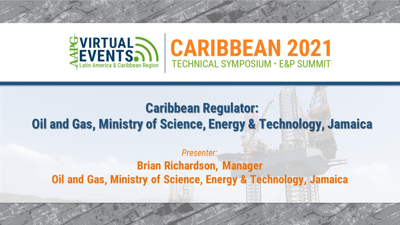 Caribbean Regulator: Oil and Gas, Ministry of Science, Energy & Technology, Jamaica