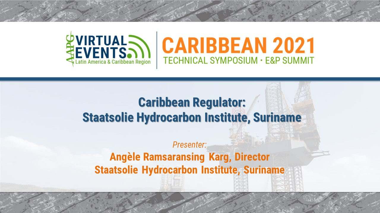 Caribbean Regulator: Staatsolie Hydrocarbon Institute, Suriname