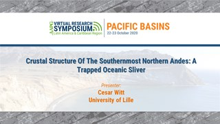 Crustal Structure Of The Southernmost Northern Andes: A Trapped Oceanic Sliver