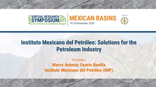 Instituto Mexicano del Petróleo: Solutions for the Petroleum Industry
