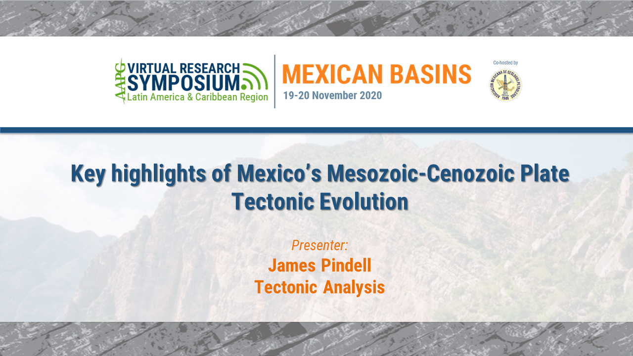 Key highlights of Mexico's Mesozoic-Cenozoic Plate Tectonic Evolution