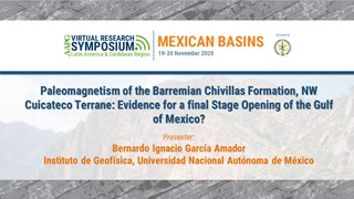 Paleomagnetism of the Barremian Chivillas Formation, NW Cuicateco Terrane: Evidence for a final Stage Opening of the Gulf of Mexico?