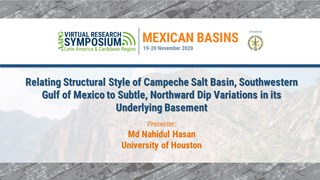 Relating Structural Style of Campeche Salt Basin, Southwestern Gulf of Mexico to Subtle, Northward Dip Variations in its Underlying Basement