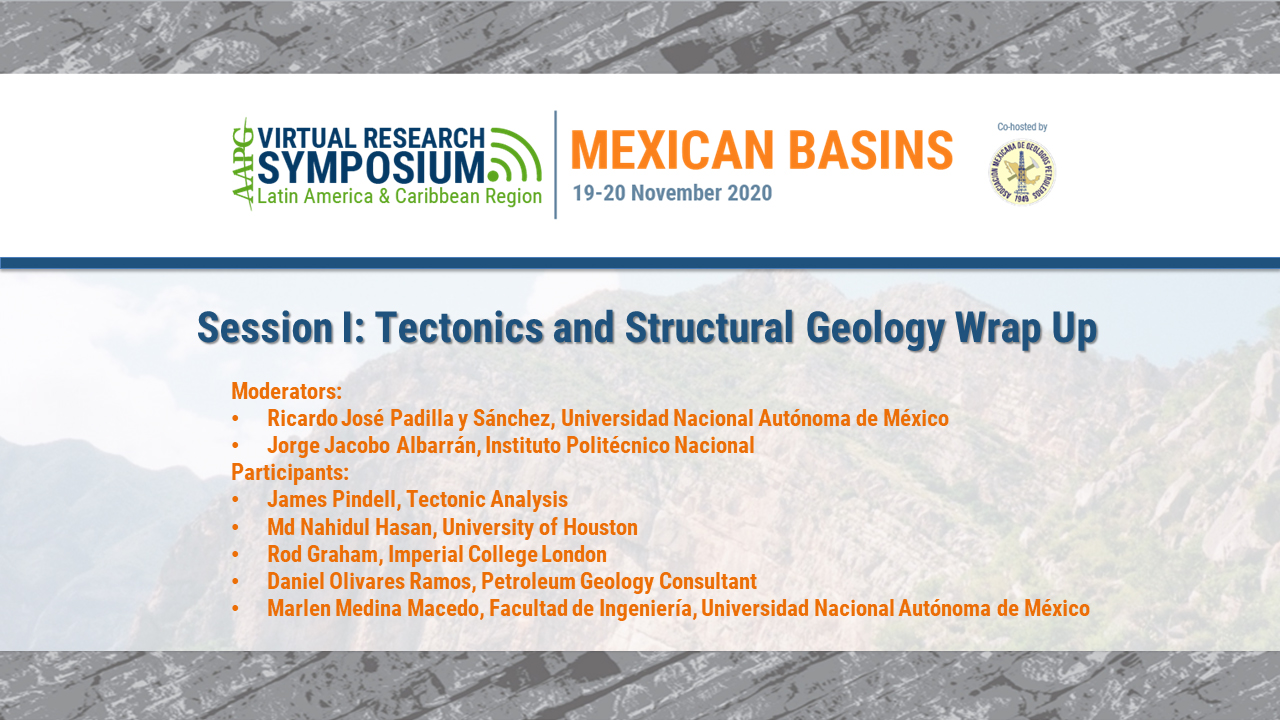 Session I: Tectonics and Structural Geology - Session Overview