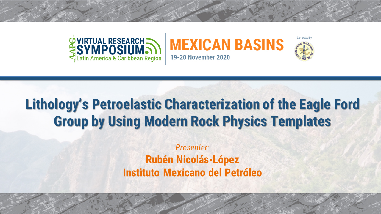 Lithology's Petroelastic Characterization of the Eagle Ford Group by Using Modern Rock Physics Templates