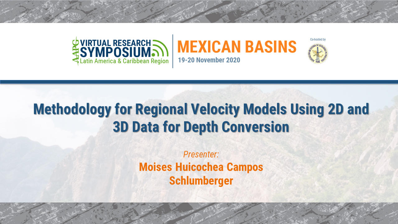 Methodology for Regional Velocity Models Using 2D and 3D Data for Depth Conversion