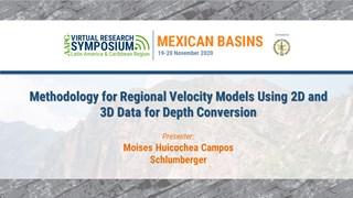 Methodology for Regional Velocity Models Using 2D and 3D Data for Depth Conversion