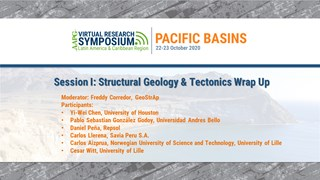 Session I: Structural Geology & Tectonics Wrap Up