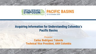 Acquiring Information for Understanding Colombia's Pacific Basins