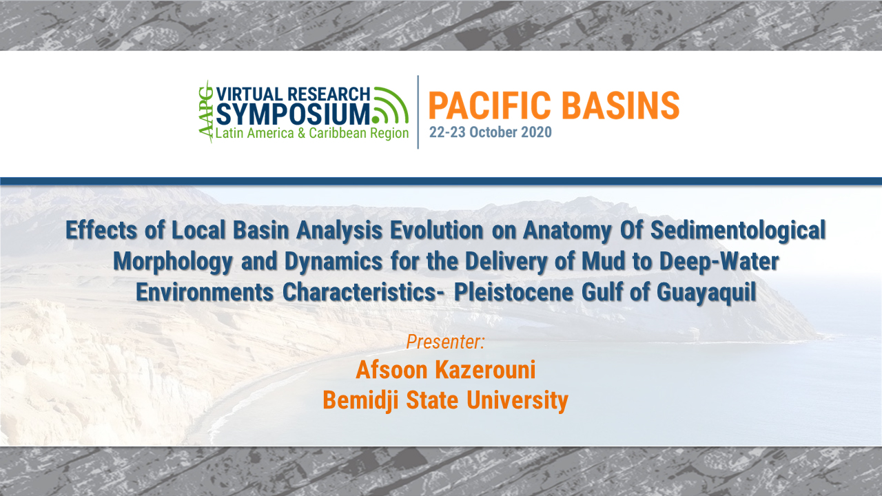 Effects of Local Basin Analysis Evolution on Anatomy Of Sedimentological Morphology and Dynamics for the Delivery of Mud to Deep-Water Environments Characteristics- Pleistocene Gulf of Guayaquil