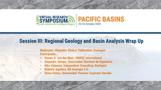 Session III: Regional Geology and Basin Analysis Wrap Up