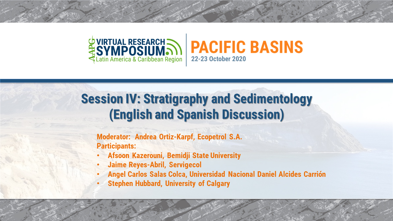 Session IV: Stratigraphy and Sedimentology (English and Spanish Discussion)