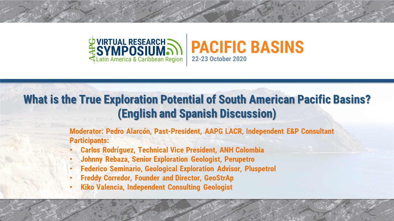 What is the True Exploration Potential of South American Pacific Basins? (English and Spanish Discussion)
