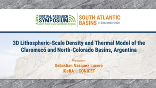 3D Lithospheric-Scale Density and Thermal Model of the Claromecó and North-Colorado Basins, Argentina