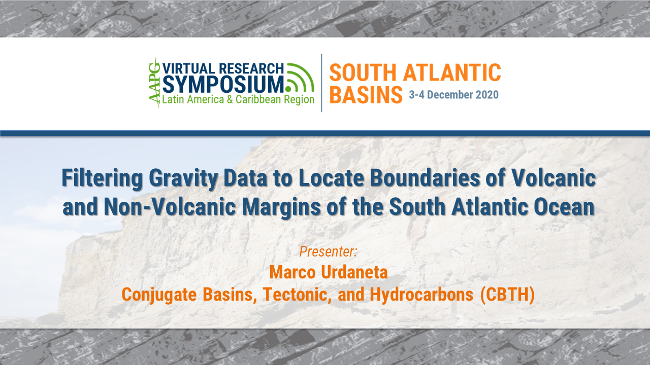 Filtering Gravity Data to Locate Boundaries of Volcanic and Non-Volcanic Margins of the South Atlantic Ocean