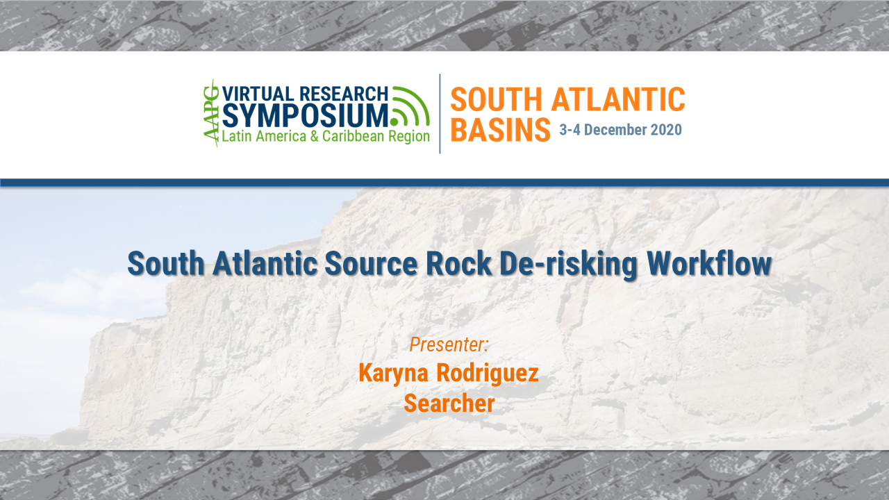 South Atlantic Source Rock De-risking Workflow