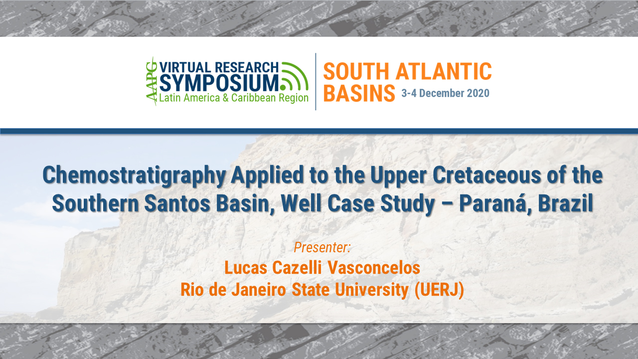 Chemostratigraphy Applied to the Upper Cretaceous of the Southern Santos Basin, Well Case Study - Paraná, Brazil