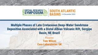 Multiple Phases of Late Cretaceous Deep-Water Sandstone Deposition Associated with a Distal Albian Volcanic Rift, Sergipe Basin, NE Brazil