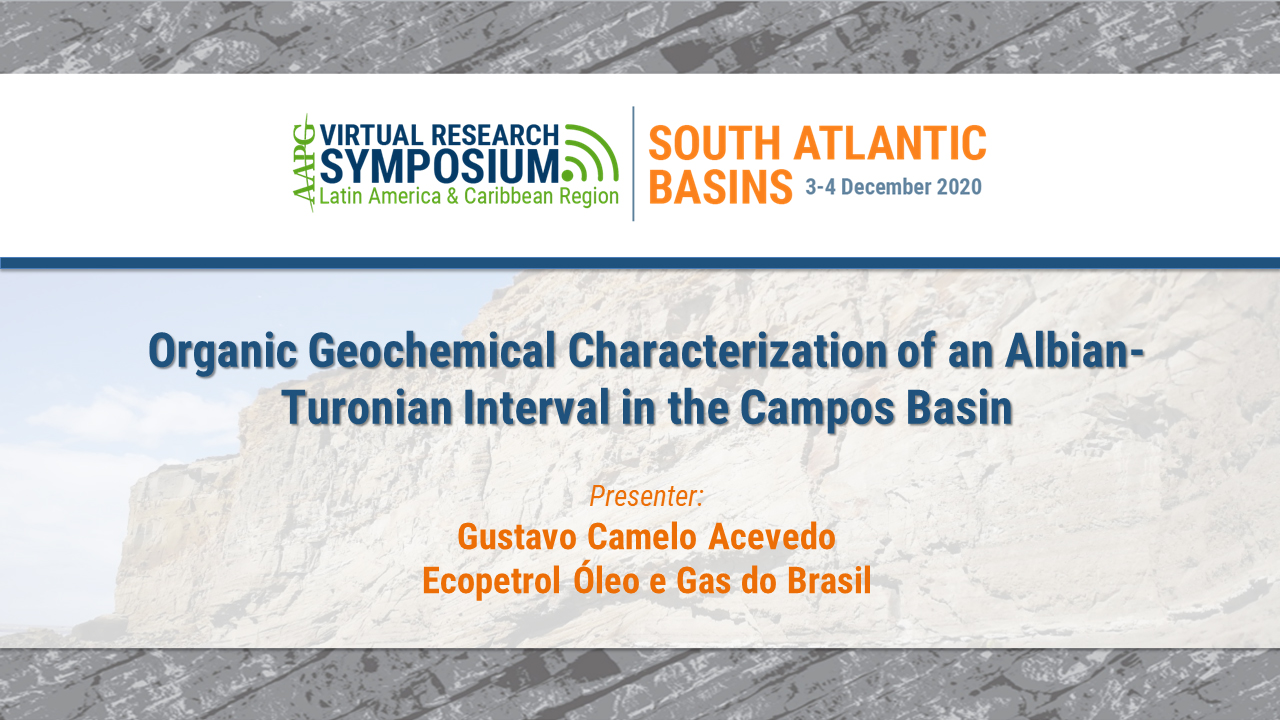 Organic Geochemical Characterization of an Albian-Turonian Interval in the Campos Basin